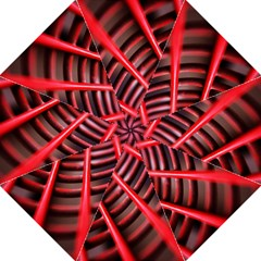 Abstract Of A Red Metal Chair Straight Umbrellas