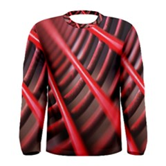 Abstract Of A Red Metal Chair Men s Long Sleeve Tee