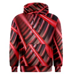 Abstract Of A Red Metal Chair Men s Pullover Hoodie