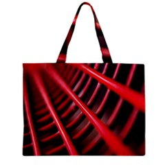 Abstract Of A Red Metal Chair Zipper Mini Tote Bag