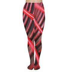 Abstract Of A Red Metal Chair Women s Tights