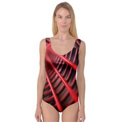 Abstract Of A Red Metal Chair Princess Tank Leotard