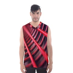 Abstract Of A Red Metal Chair Men s Basketball Tank Top