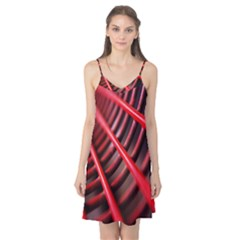 Abstract Of A Red Metal Chair Camis Nightgown