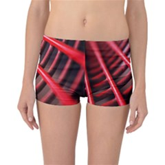 Abstract Of A Red Metal Chair Reversible Bikini Bottoms
