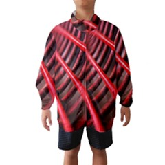 Abstract Of A Red Metal Chair Wind Breaker (kids)