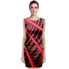 Abstract Of A Red Metal Chair Classic Sleeveless Midi Dress