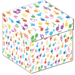 Musical Notes Storage Stool 12