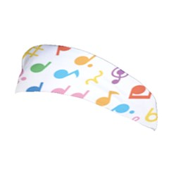 Musical Notes Stretchable Headband