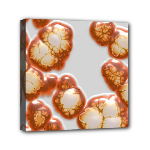 Abstract Texture A Completely Seamless Tile Able Background Design Mini Canvas 6  X 6