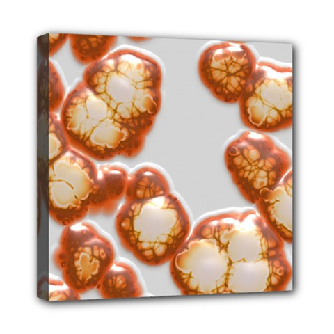 Abstract Texture A Completely Seamless Tile Able Background Design Mini Canvas 8  x 8