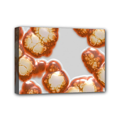 Abstract Texture A Completely Seamless Tile Able Background Design Mini Canvas 7  x 5