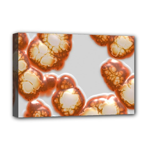 Abstract Texture A Completely Seamless Tile Able Background Design Deluxe Canvas 18  x 12