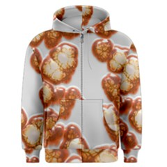 Abstract Texture A Completely Seamless Tile Able Background Design Men s Zipper Hoodie