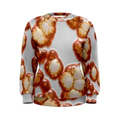 Abstract Texture A Completely Seamless Tile Able Background Design Women s Sweatshirt
