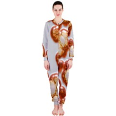 Abstract Texture A Completely Seamless Tile Able Background Design OnePiece Jumpsuit (Ladies)