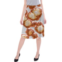 Abstract Texture A Completely Seamless Tile Able Background Design Midi Beach Skirt