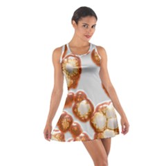 Abstract Texture A Completely Seamless Tile Able Background Design Cotton Racerback Dress