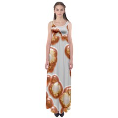 Abstract Texture A Completely Seamless Tile Able Background Design Empire Waist Maxi Dress