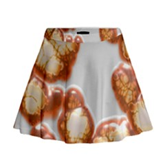 Abstract Texture A Completely Seamless Tile Able Background Design Mini Flare Skirt