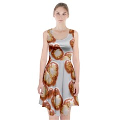Abstract Texture A Completely Seamless Tile Able Background Design Racerback Midi Dress