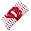 Sexy Lips Red Polka Dot Apple iPad 3/4 Hardshell Case (Compatible with Smart Cover) View4