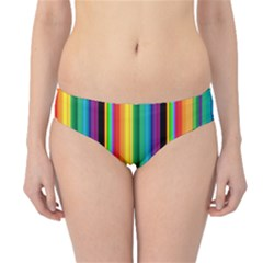 Multi Colored Colorful Bright Stripes Wallpaper Pattern Background Hipster Bikini Bottoms