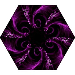 Purple Flower Floral Mini Folding Umbrellas