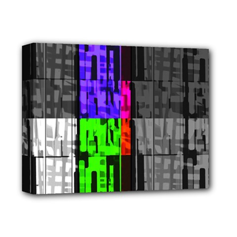 Repeated Tapestry Pattern Deluxe Canvas 14  X 11