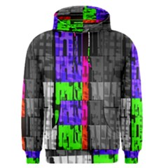 Repeated Tapestry Pattern Men s Pullover Hoodie
