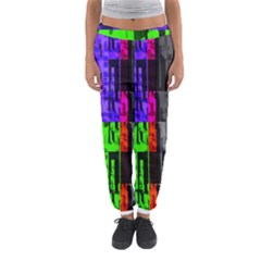 Repeated Tapestry Pattern Women s Jogger Sweatpants