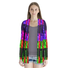 Repeated Tapestry Pattern Cardigans