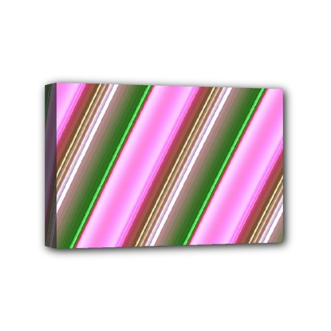 Pink And Green Abstract Pattern Background Mini Canvas 6  x 4