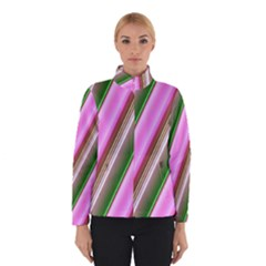 Pink And Green Abstract Pattern Background Winterwear