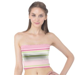 Turquoise Blue Damask Line Green Pink Red White Tube Top