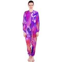 Littie Birdie Abstract Design Artwork OnePiece Jumpsuit (Ladies)