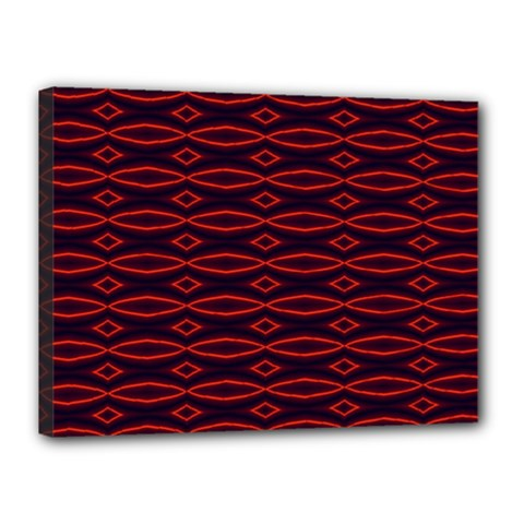 Repeated Tapestry Pattern Abstract Repetition Canvas 16  x 12