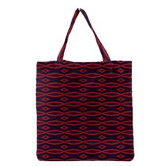 Repeated Tapestry Pattern Abstract Repetition Grocery Tote Bag