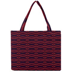 Repeated Tapestry Pattern Abstract Repetition Mini Tote Bag