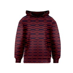 Repeated Tapestry Pattern Abstract Repetition Kids  Pullover Hoodie