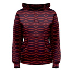 Repeated Tapestry Pattern Abstract Repetition Women s Pullover Hoodie