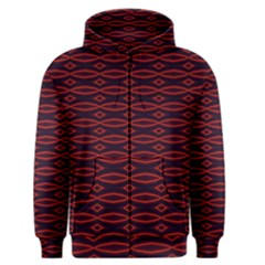 Repeated Tapestry Pattern Abstract Repetition Men s Zipper Hoodie