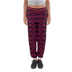 Repeated Tapestry Pattern Abstract Repetition Women s Jogger Sweatpants