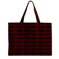 Repeated Tapestry Pattern Abstract Repetition Zipper Mini Tote Bag