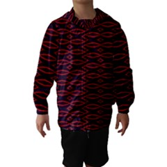 Repeated Tapestry Pattern Abstract Repetition Hooded Wind Breaker (Kids)