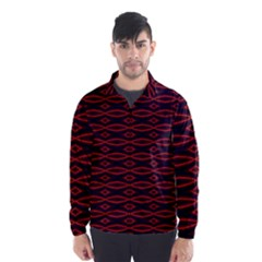 Repeated Tapestry Pattern Abstract Repetition Wind Breaker (men)