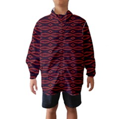 Repeated Tapestry Pattern Abstract Repetition Wind Breaker (kids)