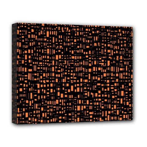 Brown Box Background Pattern Deluxe Canvas 20  x 16