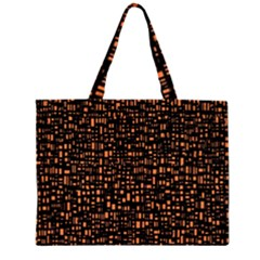 Brown Box Background Pattern Large Tote Bag