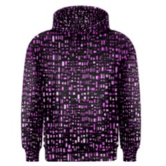 Purple Denim Background Pattern Men s Pullover Hoodie